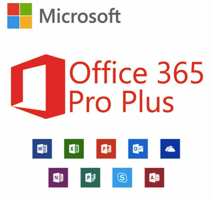 400x Microsoft Office 365+office 2019 Lifetime 5 PC/MAC