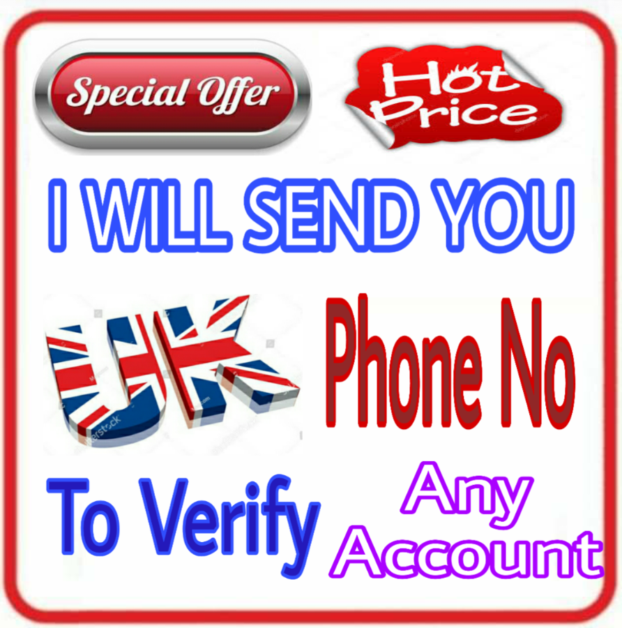 UK Real Phone Number to Verify Any Account