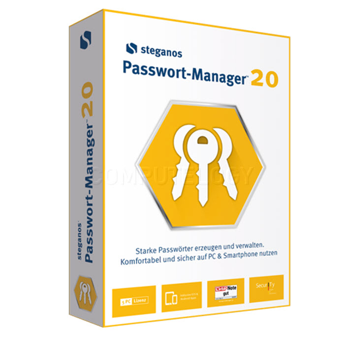 Steganos Passwort Manager 20 1 PC LifeTime License