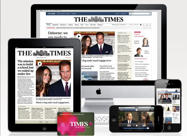 The Times UK Digital Newspaper 1 Year Full Access