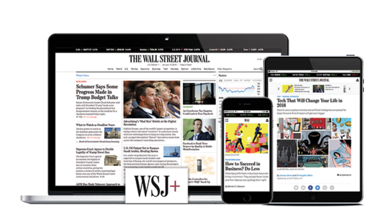 Wall Street Journal 1 Year Full Access
