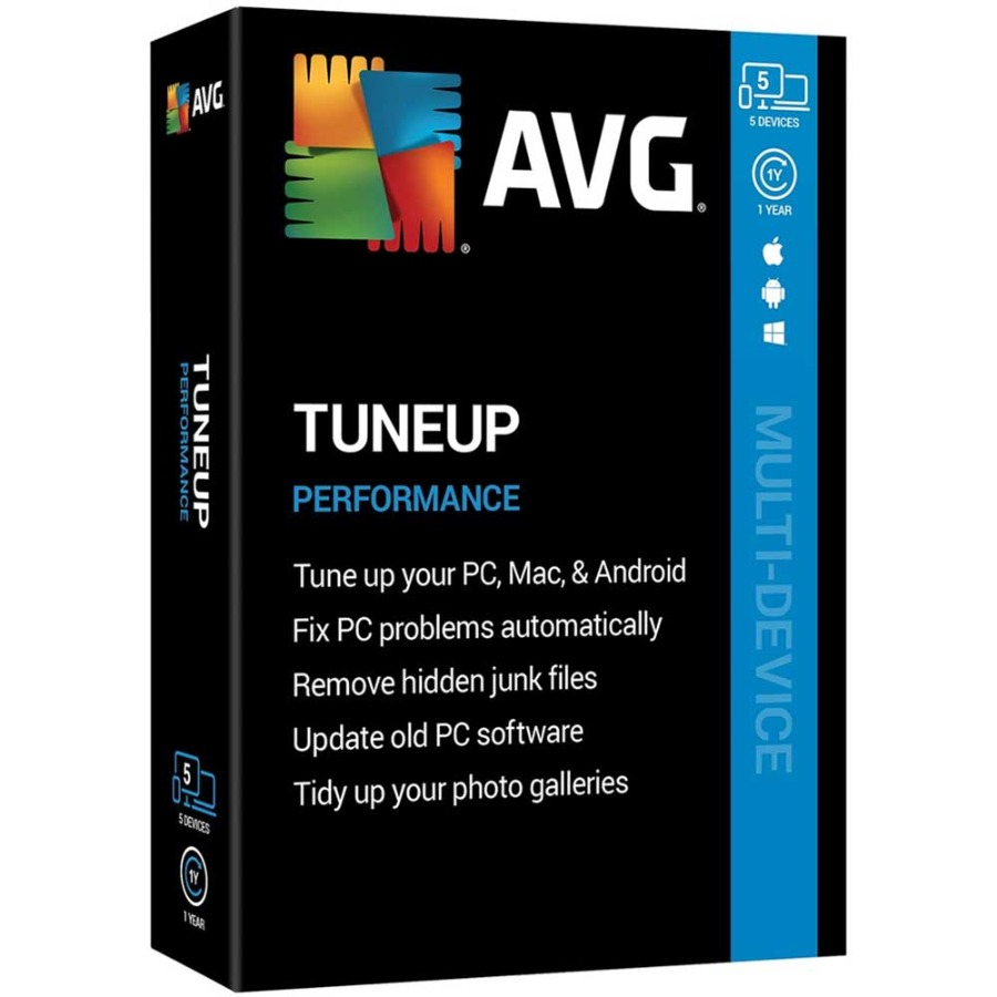 AVG TuneUp Unlimited PC 7 months Global License