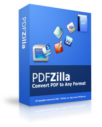PDFZilla PDF Editor and Converter LifeTime License 3 PC