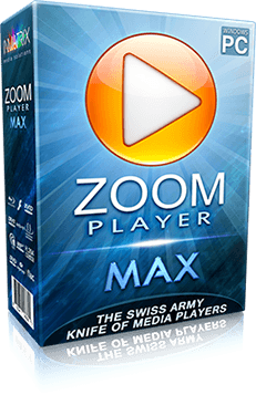 Zoom Player Max LifeTime License 1 PC