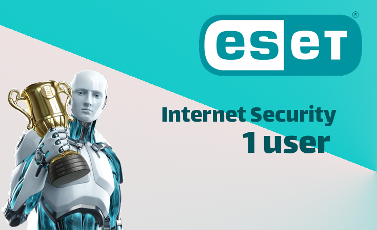 ESET Internet Security 1Year (1 user)
