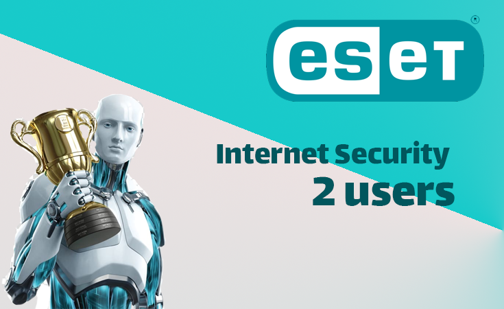ESET Internet Security 1Year (2 users)