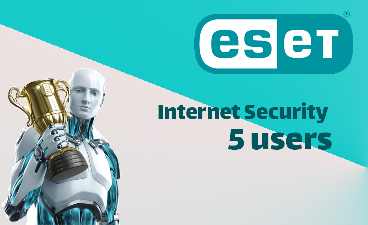 ESET Internet Security 1Year (5 users)