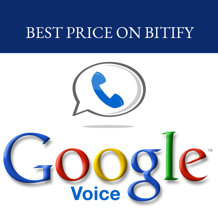 Google Voice ☎ USA Number ☎ 10x only 20$