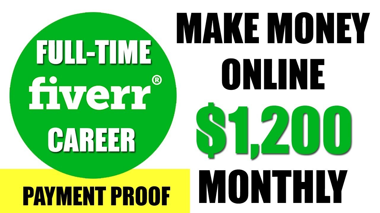Fiverr $1200/month Method