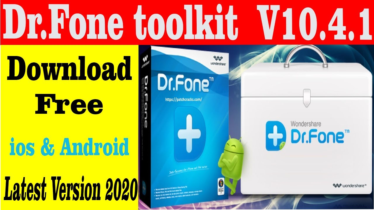 Dr.Fone toolkit for iOS and Android