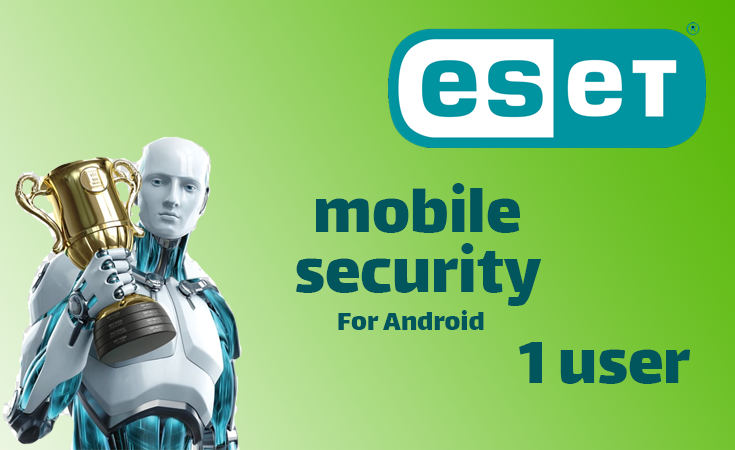 ESET Mobile Security 1Year (1 user)