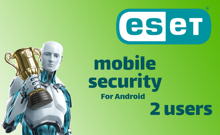 ESET Mobile Security 1Year (2 users)