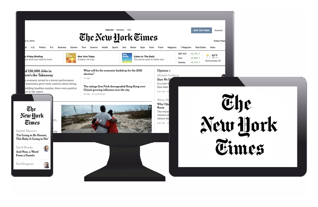 The New York Times 1 Year Full Access