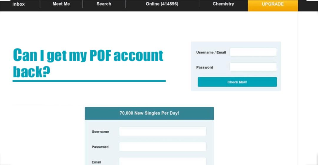 POF Verification and other Dating Sites
