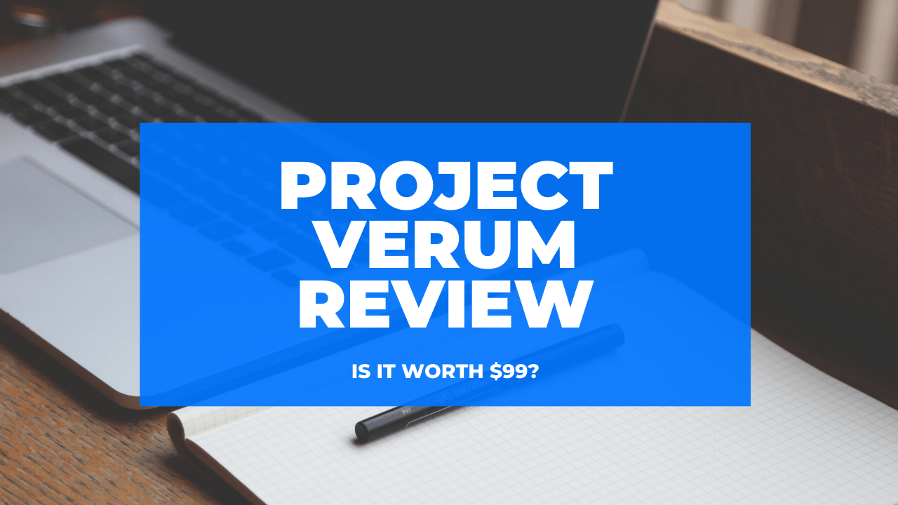 Project Verum Ecom Foundations Full Course Dropshipping