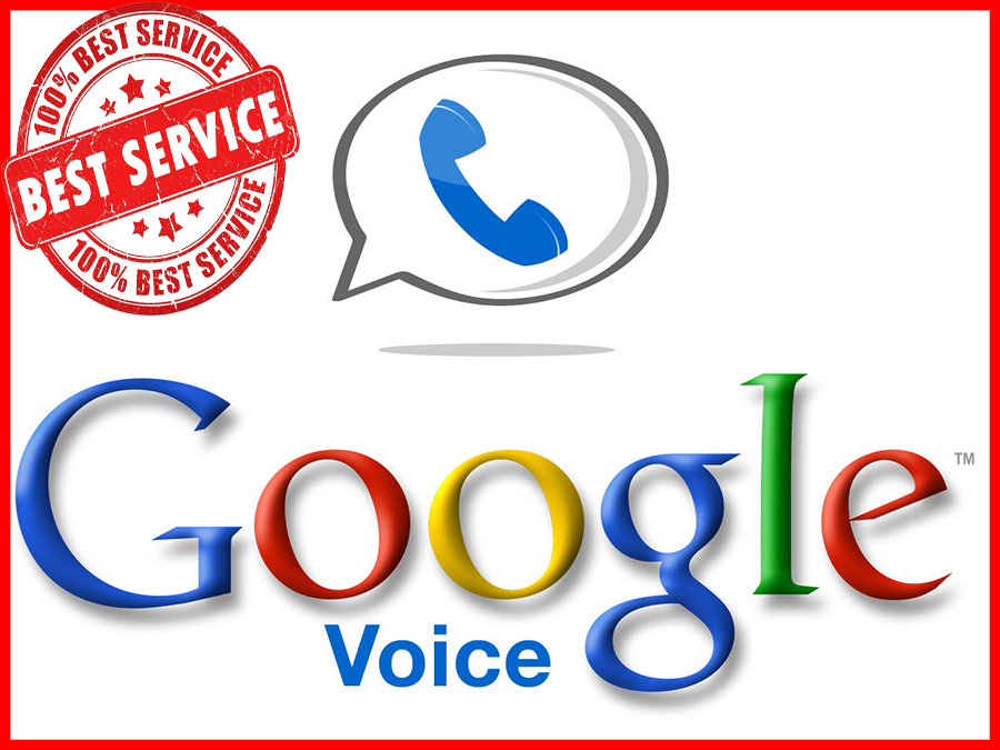 Google Voice Aged USA Number + Gmail Acc Login any IP