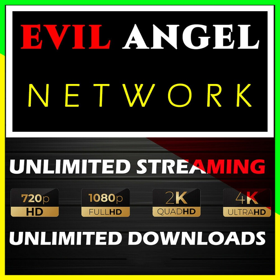 Evil Angel Full Network Access 4K Video Download 1 Year