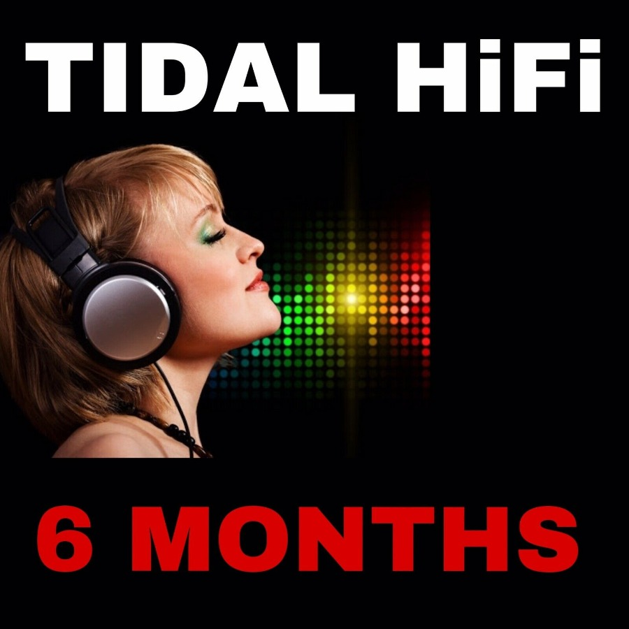 Tidal HiFi 6 Months For Private Email | Worldwide |