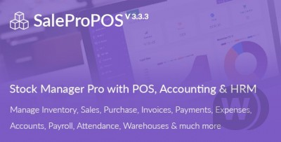 SalePro inventory management system with POS, HRM&am...