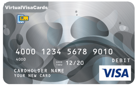 Virtual Visa Card For Facebook Promote Any Balance
