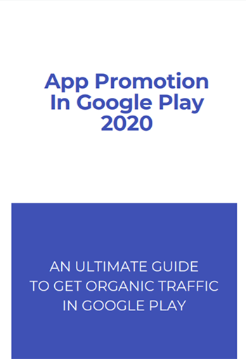 Promoting Android apps in Google Play 2020 - blackhat