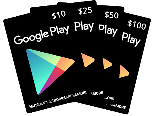 Google Play Gift card For Gamer 10$