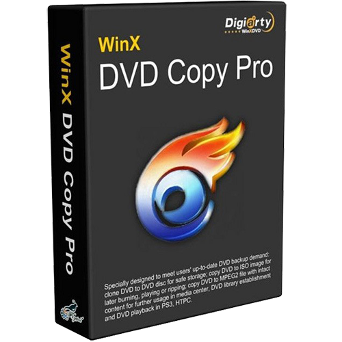 WinX DVD Copy Pro LifeTime License 3 PC