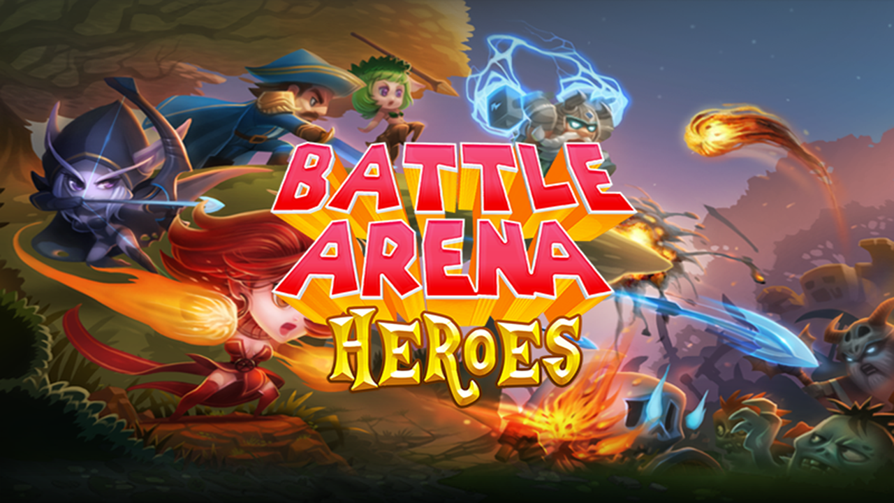 Source code Battle Arena Heroes Unity android and ios