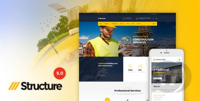 Structure v6.9.2 - building template for WordPress