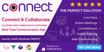 Connect - Live Class,Meeting, Webinar, Online Training
