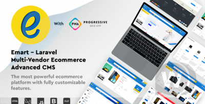 emart - Laravel Multi-Vendor Ecommerce Advanced CMS
