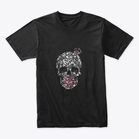 King Bubblegum Skull Silver T-Shirt