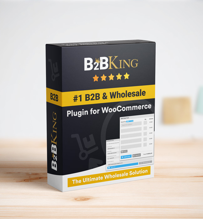 The Ultimate WooCommerce B2B & Wholesale Plugin