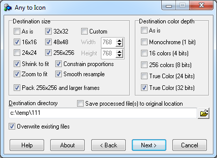 Any to Icon 1 PC LifeTime License