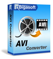 Bigasoft AVI Converter LifeTime License 3 PC