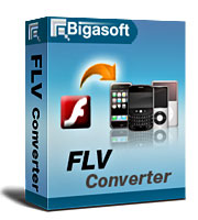 Bigasoft FLV Converter LifeTime License 3 PC