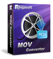 Bigasoft MOV Converter LifeTime License 3 PC