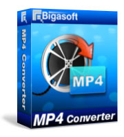 Bigasoft MP4 Converter LifeTime License 1 PC