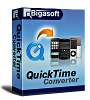 Bigasoft QuickTime Converter LifeTime License 1 PC
