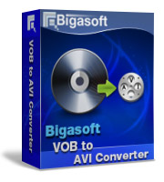 Bigasoft VOB to AVI Converter LifeTime License 3 PC