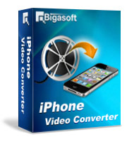 Bigasoft iPhone Video Converter LifeTime License 1 PC