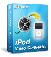 Bigasoft iPod Video Converter LifeTime License 3 PC