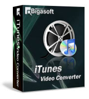 Bigasoft iTunes Video Converter LifeTime License 1 PC