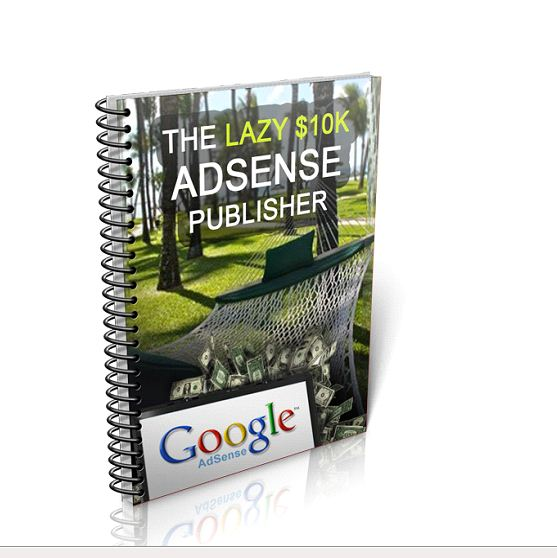 lazy adsense publisher Ebook