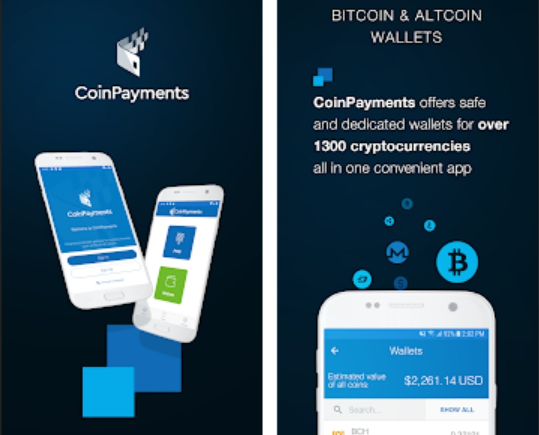 Coinpayments accounts