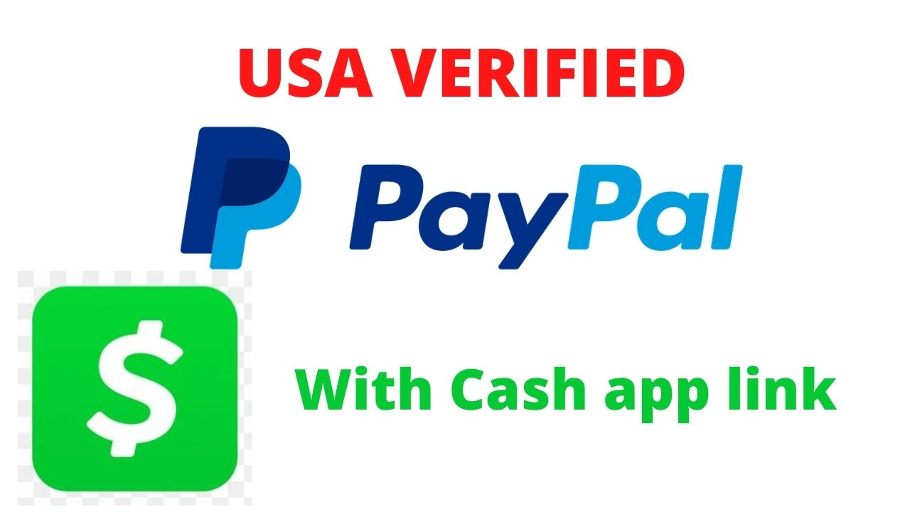 USA Verified PayPal With Cash App Link | USA Paypal |||