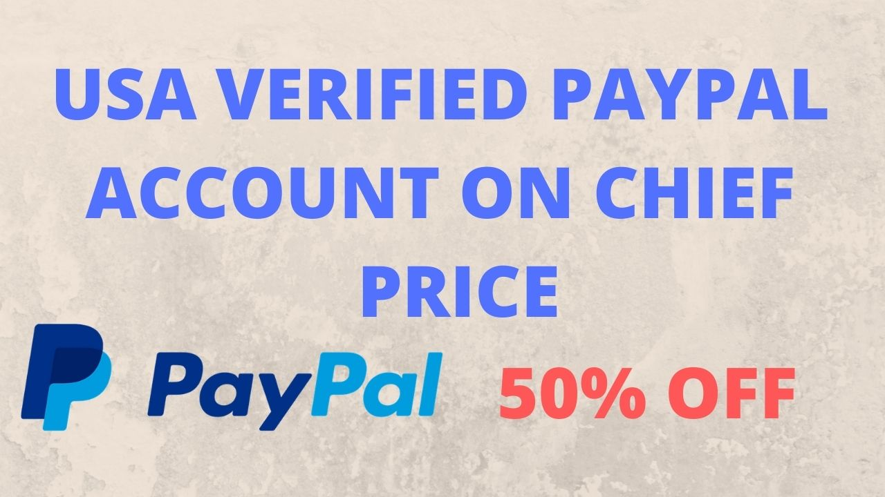 USA VERIFIED PAYPAL ACCOUNT | USA verified Paypal | USA