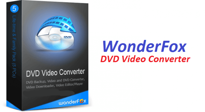 WonderFox DVD Video Converter 1 PC LifeTime License