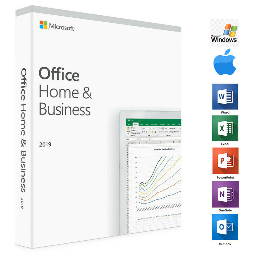 Microsoft Office Home and Business 2019 for Windows/Mac