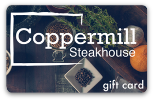 100$ Coppermill Steakhouse E-Gift card